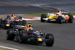 Mark Webber, Red Bull Racing; David Coulthard, Red Bull Racing