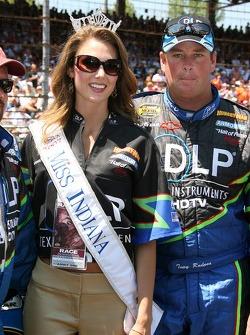 Tony Raines with Miss Indiana