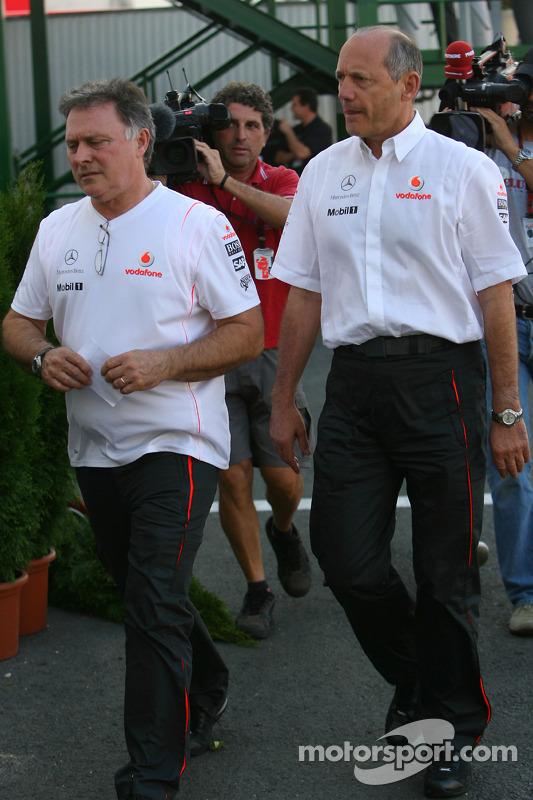 Рон Денніс залишає гоночну дирекцію
