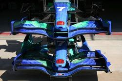 Honda Racing F1 Team, RA107, front wings