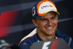 FIA press conference: Heikki Kovalainen, Renault F1 Team
