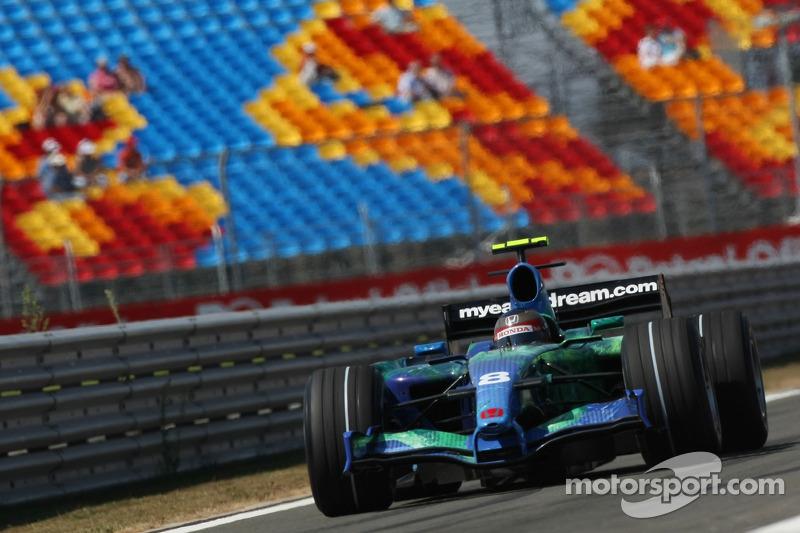 Rubens Barrichello - 1 puan