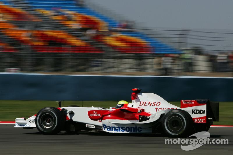 #11: Ральф Шумахер, Toyota Racing, TF107