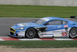 Stavelot: #65 Jetalliance Racing Aston Martin DBR9: Karl Wendlinger, Thomas Grüber, Lukas Lichtner-Hoyer