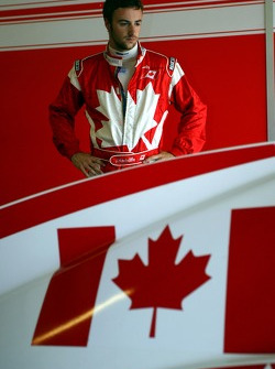 James Hinchcliffe, driver of A1 Team Canada