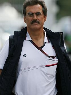 Dr. Mario Theissen, BMW Sauber F1 Team, BMW Motorsport Director