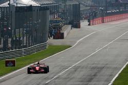Felipe Massa, Scuderia Ferrari, sale de boxes