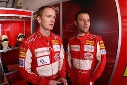 Tim Mullen and Darren Turner