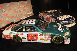 Dale Earnhardt Jr.'s No. 88 AMP Energy/National Guard Chevrolets unveiled