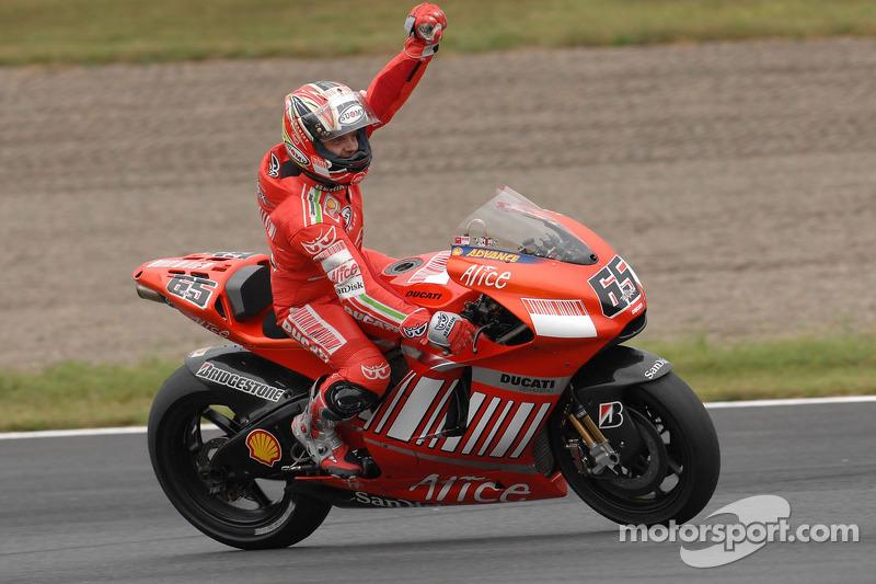 Pemenang balapan, Loris Capirossi, Ducati