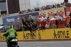 Randy De Puniet takes second place finish