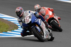Colin Edwards and Loris Capirossi