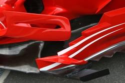 Scuderia Ferrari sidepod detail