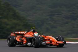 Sakon Yamamoto, Spyker F1 Team, Spyker F8-VII