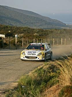 François Duval and Jean-François Elst, Citroen Xsara WRC