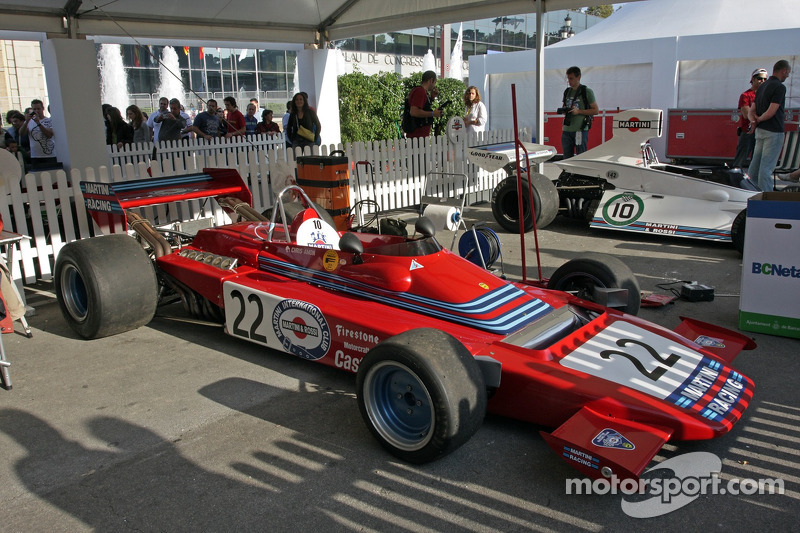 Tecno E 371 Martini, Chris Amon