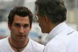 Timo Glock, Test Driver, BMW Sauber F1 Team and Dr. Mario Theissen, BMW Sauber F1 Team, BMW Motorsport Director