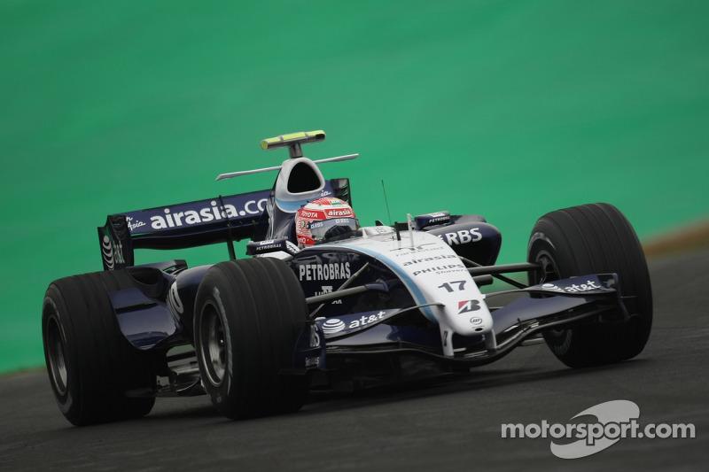 #17: Kazuki Nakajima, Williams F1 Team, FW29