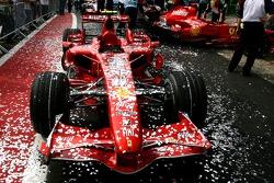 Scuderia Ferrari, F2007, covered in glitter