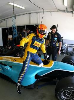 Diego Nunez, Minardi Piquet Sport