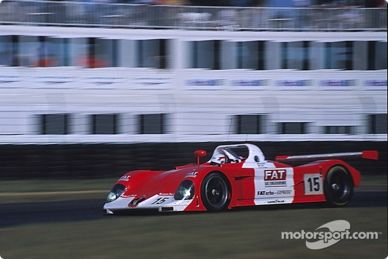 #15 Thomas Bscher BMW V12 LM: Thomas Bscher, Geoff Lees, Jean-Marc Gounon