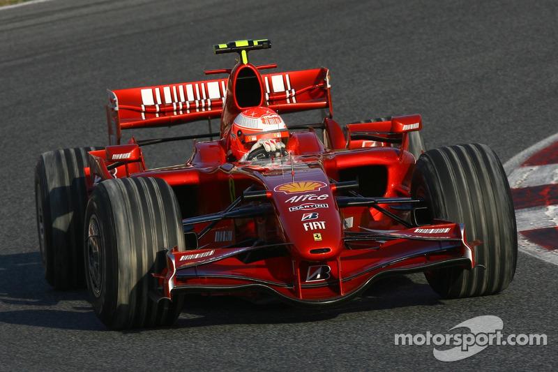 2007 год: Ferrari