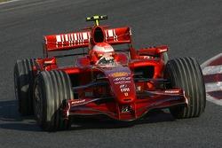 Michael Schumacher, piloto de pruebas, Scuderia Ferrari, F2007