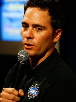 Press conference at the Doral in Miami: Jimmie Johnson