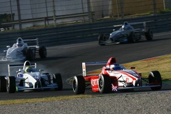Daniel McKenzie, Fortec Motorsport and Ricardo Favoretto, HBR Motorsport USA