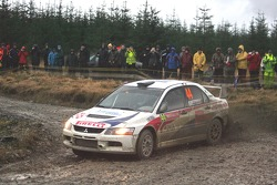 Alessandro Bettega and Simone Scattolin, Mitsubishi Lancer Evolution IX