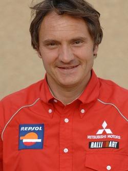 Repsol Mitsubishi Ralliart Team: team director Dominique Serieys