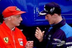 Niki Lauda ve Michael Schumacher
