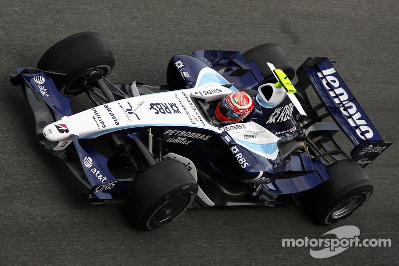#17: Kazuki Nakajima, Williams F1 Team, FW29-B