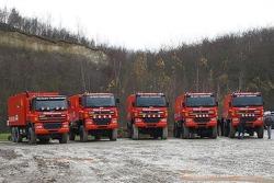 Truck team presentations