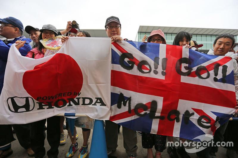 McLaren Honda фанати