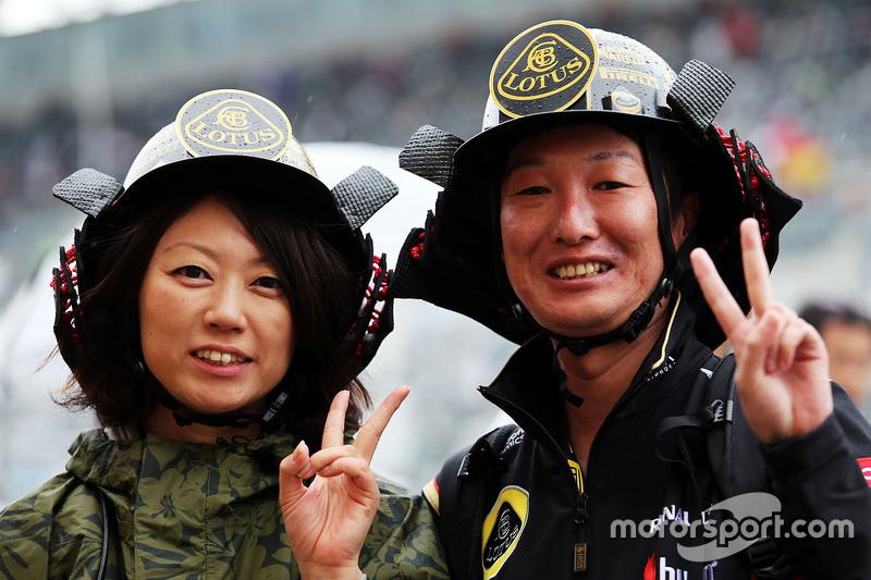 Fans von Lotus F1 Team