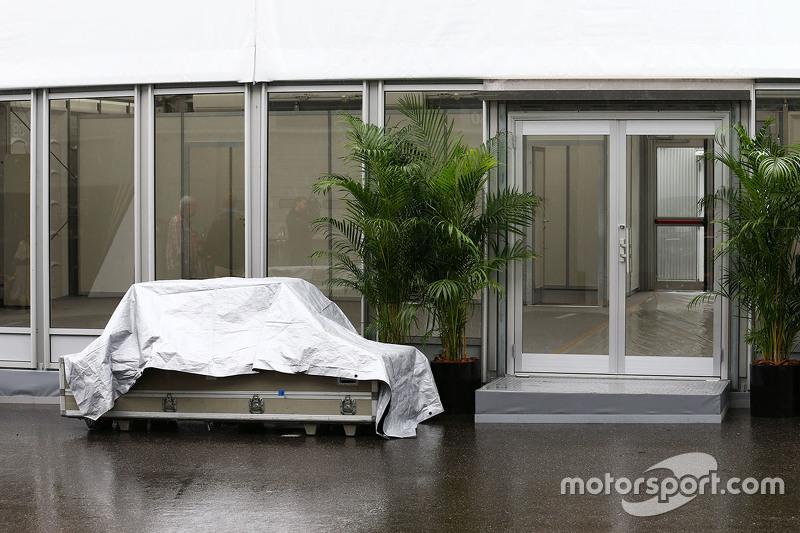 Lotus F1 Team зона гостинності