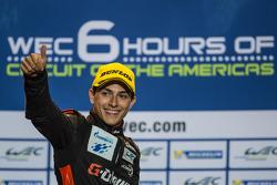 LMP2 podio: el tercer lugar Pipo Derani, G-Drive Racing
