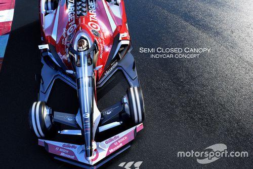 IndyCar designs per il 2035