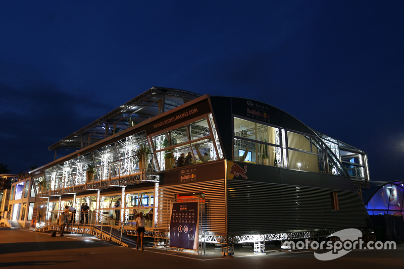 Red Bull Racing, Hospitality
