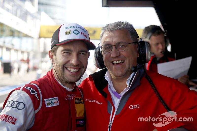 Mike Rockenfeller, Audi Sport Team Phoenix Audi RS 5 DTM with Ernst Moser