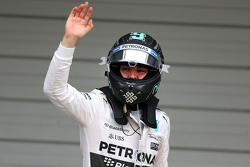Pole: Nico Rosberg, Mercedes AMG F1 Team