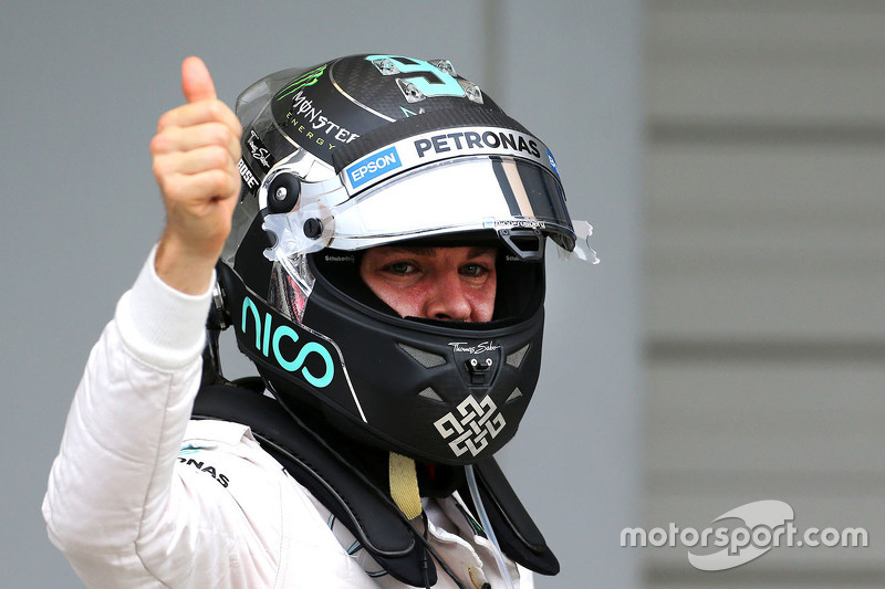 Pole: Nico Rosberg, Mercedes AMG F1 Team