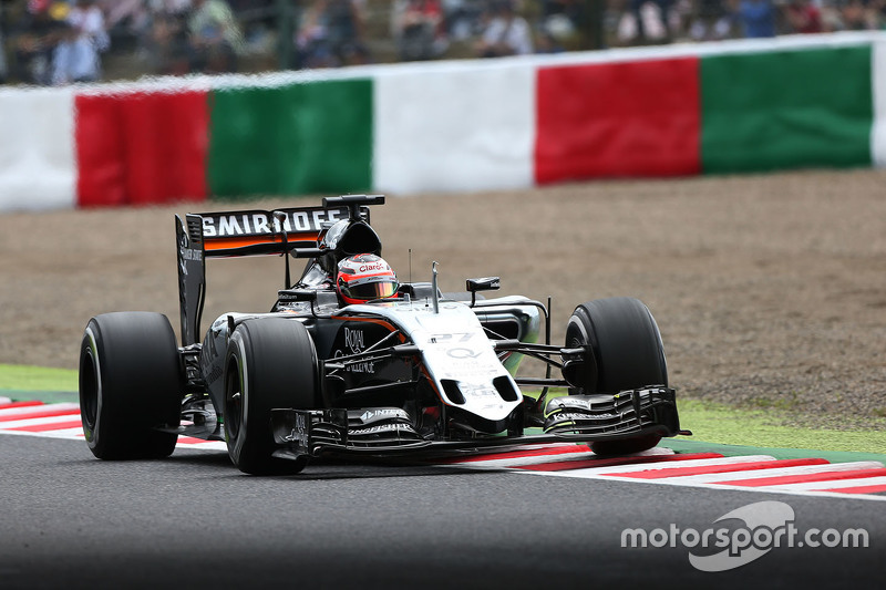 Ніко Хюлкенберг, Sahara Force India F1 VJM08