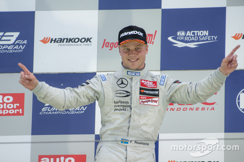 Formel 3: Felix Rosenqvist (Schweden)