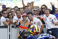 Segundo lugar Dani Pedrosa, Repsol Honda Team
