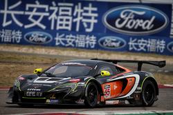 #55 FFF Racing McLaren GT3: Hiroshi Hamaguchi, Alvaro Parente