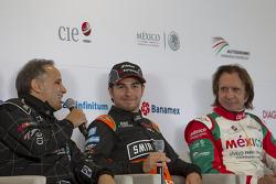 Héctor Rebaque, Sergio Pérez Sahara Force Inida e Emerson Fittipaldi
