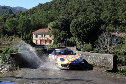 Francois Delecour and Dominique Savignoni, Porsche 911 GT3