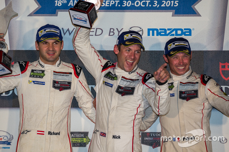 Загальний Переможці гонки #911 Porsche North America Porsche 911 RSR: Патрік Пилі, Нік Тенді, Річард